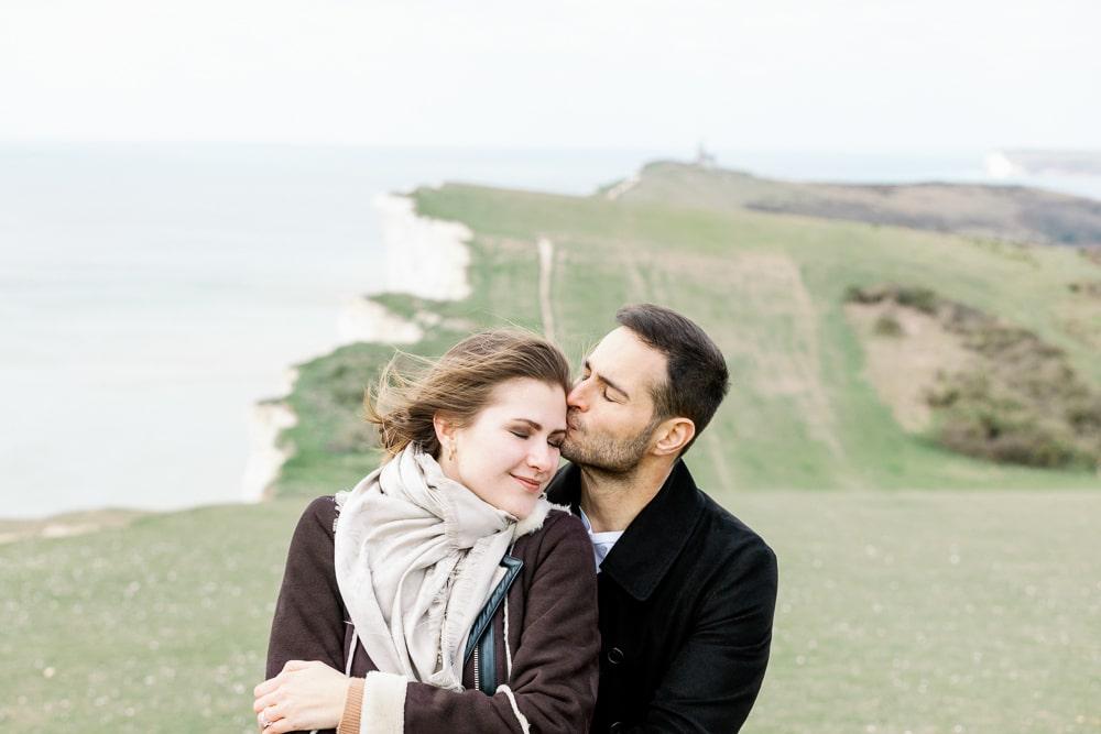 Belle Tout Lighthouse engagement photos