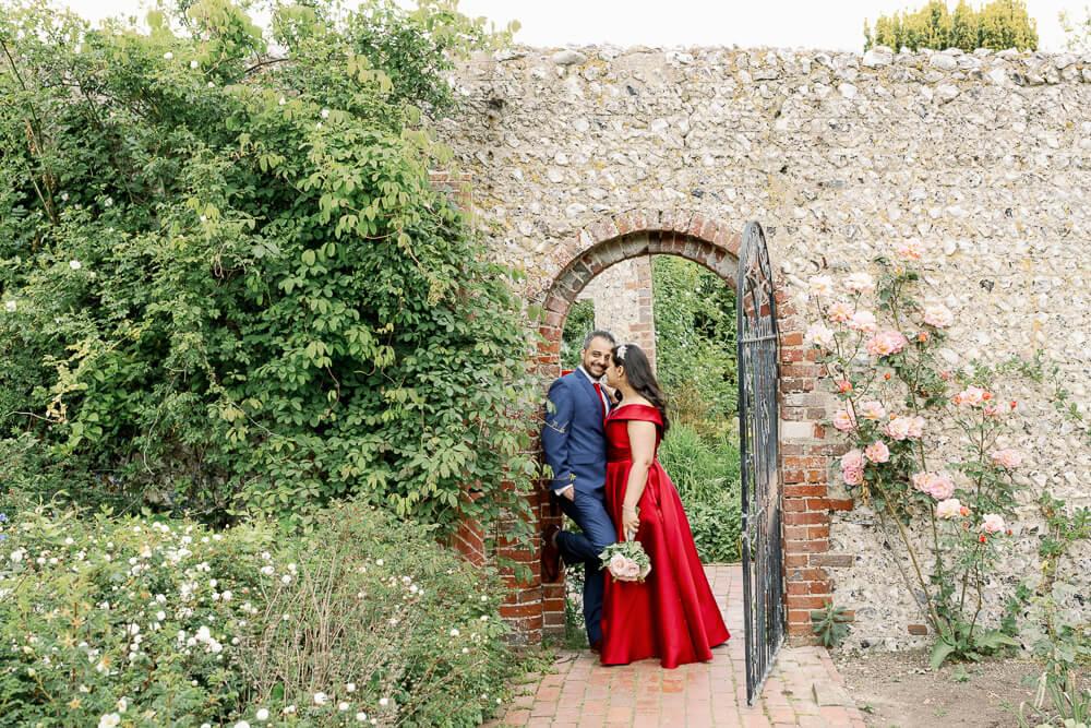Engagement photography in Rottingdean at Kipling Gardens