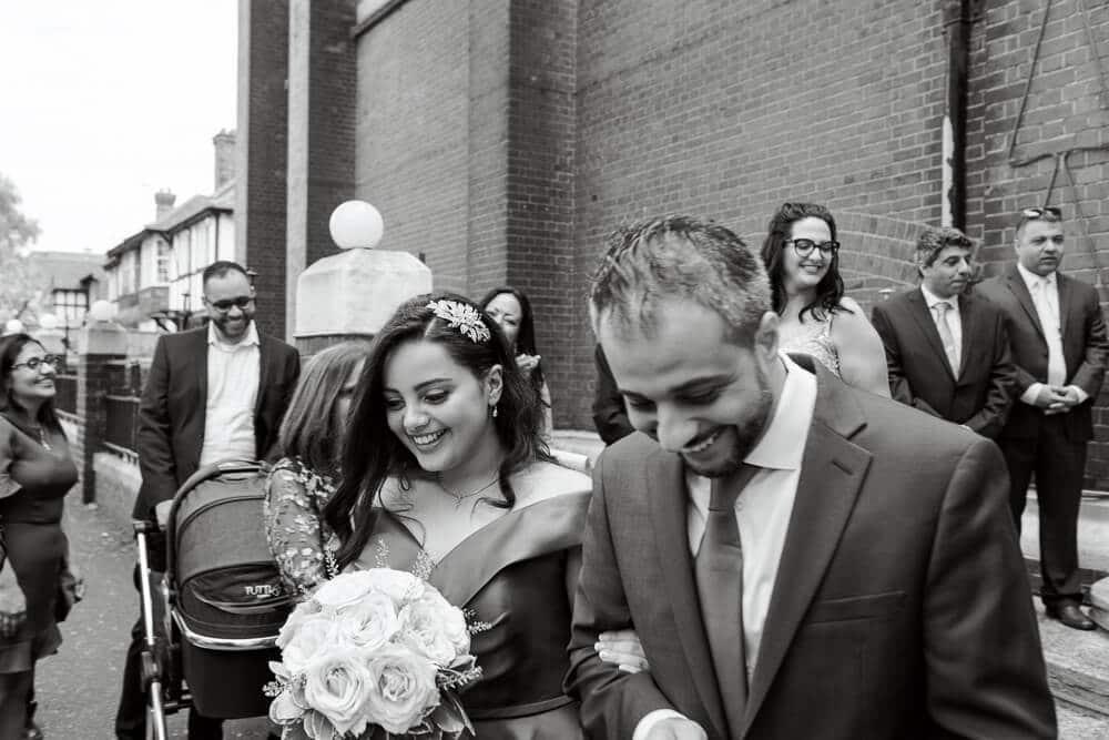 Rite of Betrothal ceremony with Brighton wedding photographer