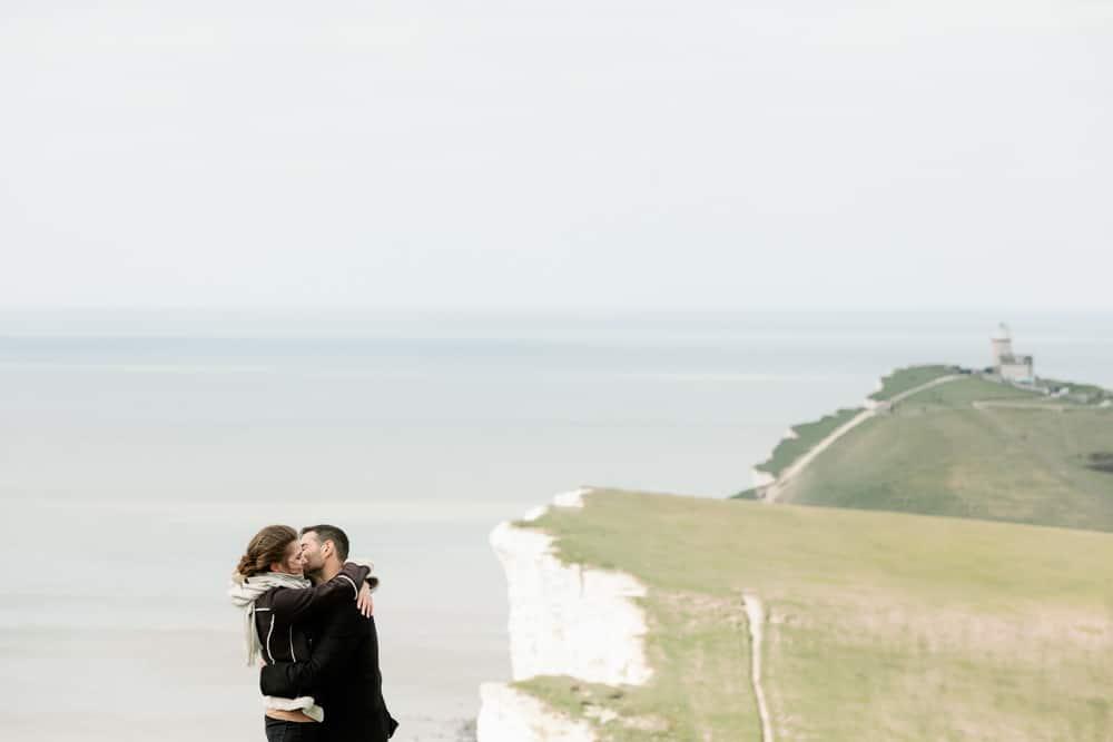 Seven Sisters Proposal at Beachy Head