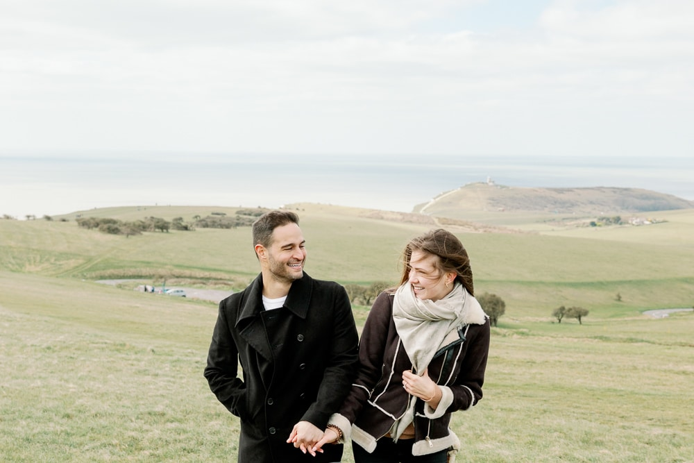 Seven Sisters Proposal at Beachy Head