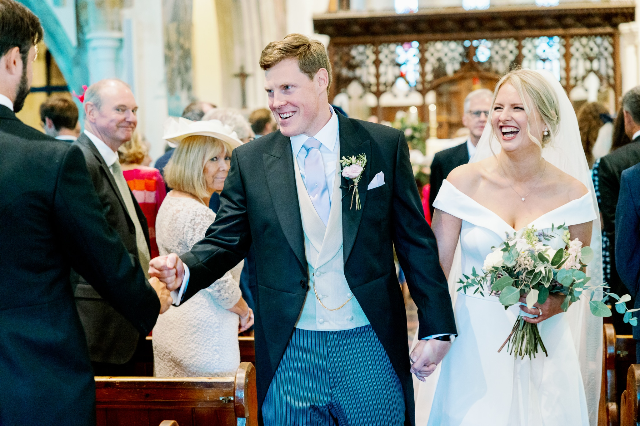 Bexhill Church wedding with Eastbourne wedding photographer