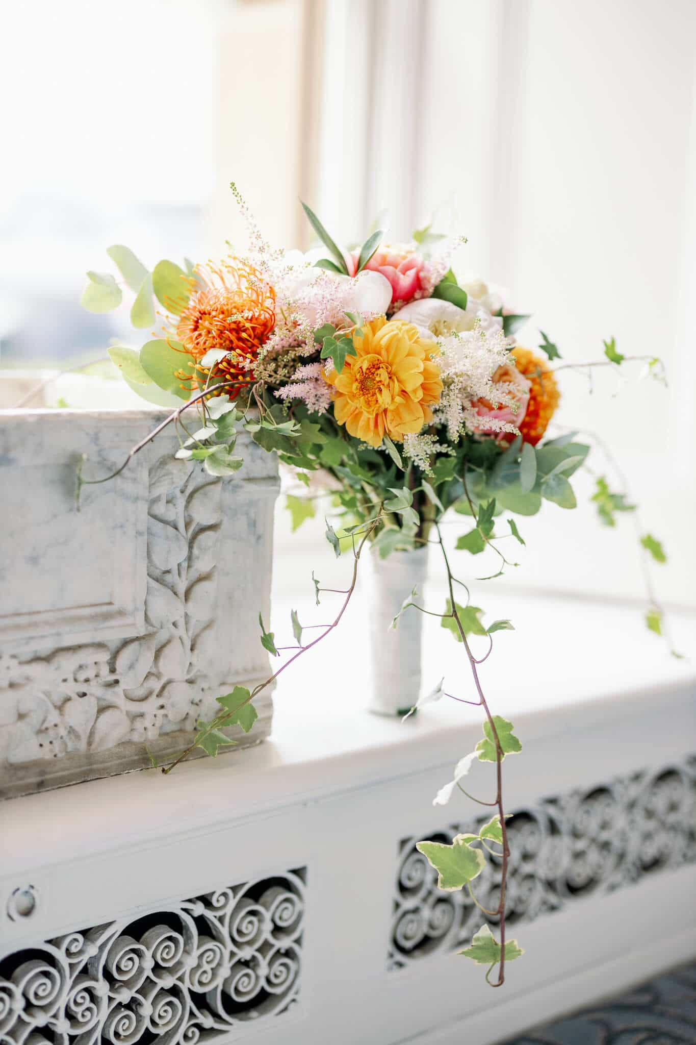 Blomster Designs Flowers wedding bouquet | Berkshire weddings