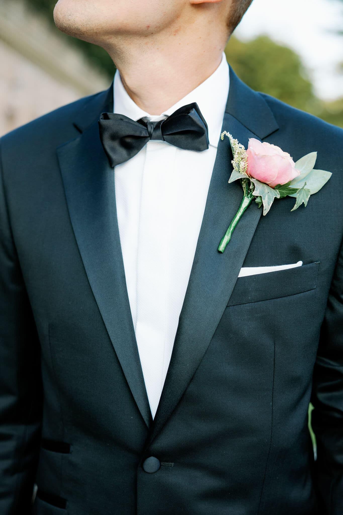 Groom portrait with west london wedding photographer