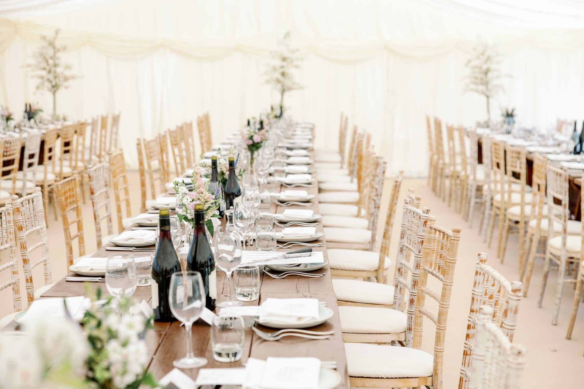 James Marquees Hire in East Sussex at Brickwall House wedding venue