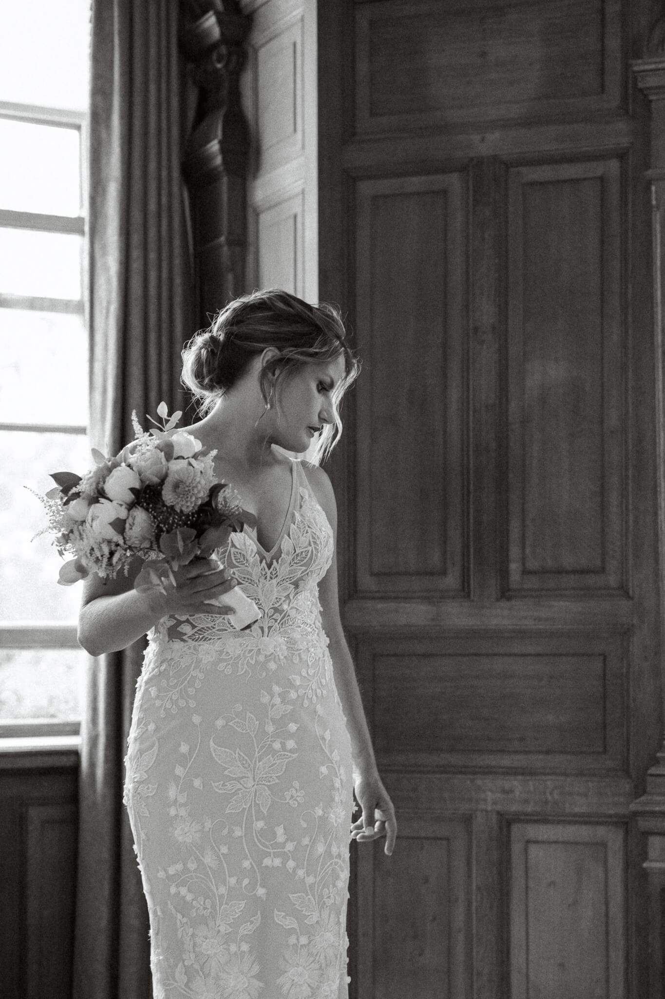 Bridal Suite at Cliveden Hotel with Bride Getting ready | West London Wedding Photography