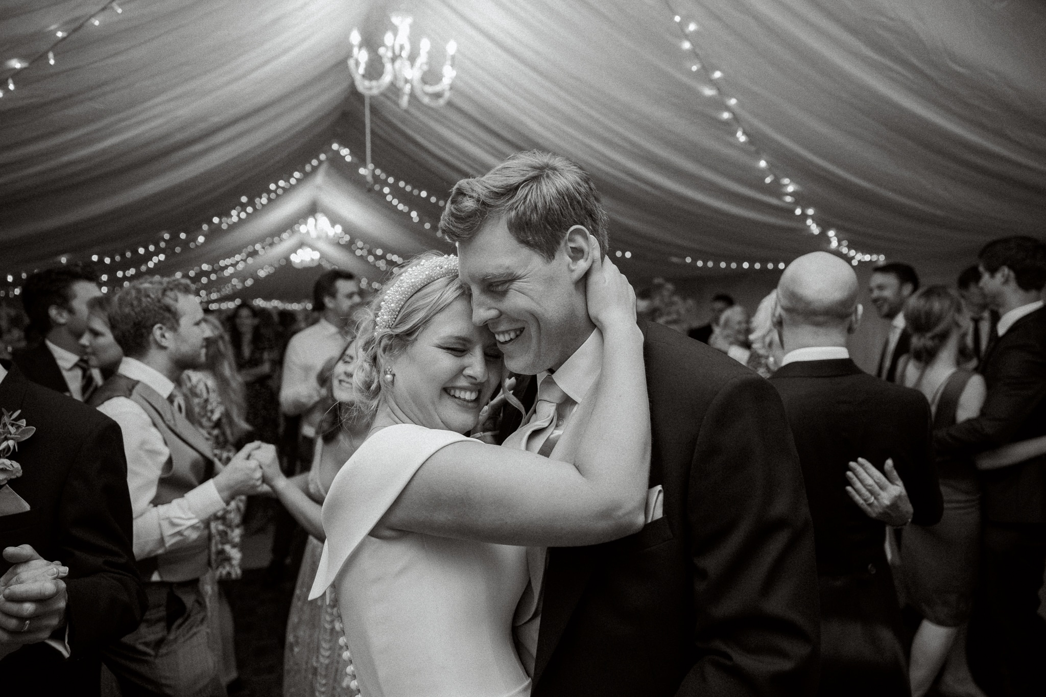 Brickwall House wedding Marquee reception photography in Hastings