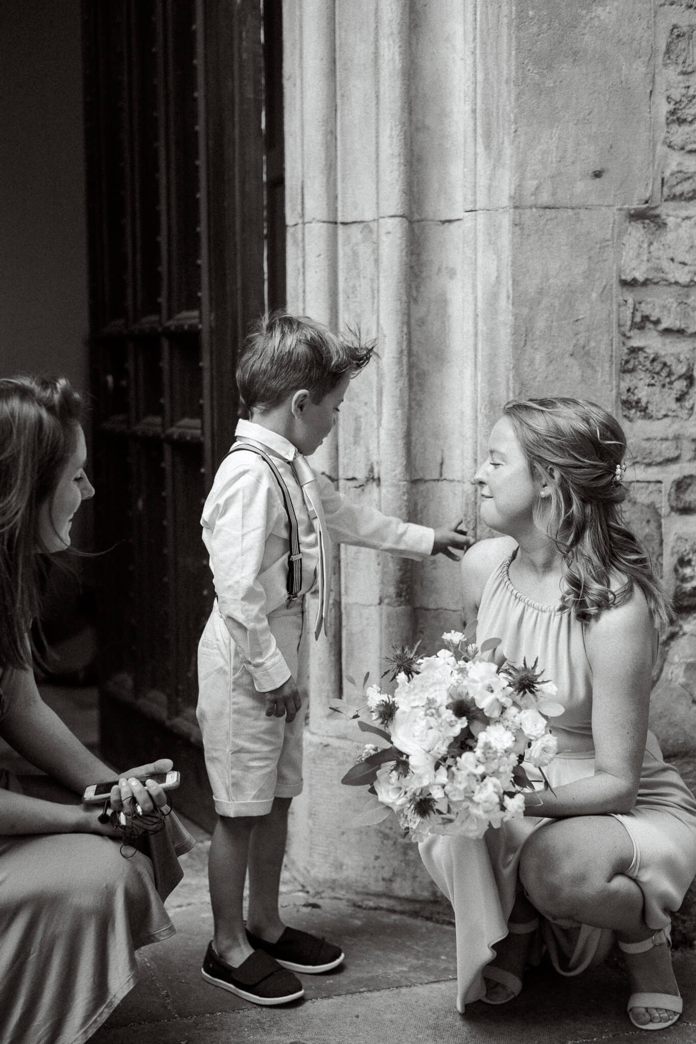 Oxford wedding ceremony at St Ebbs