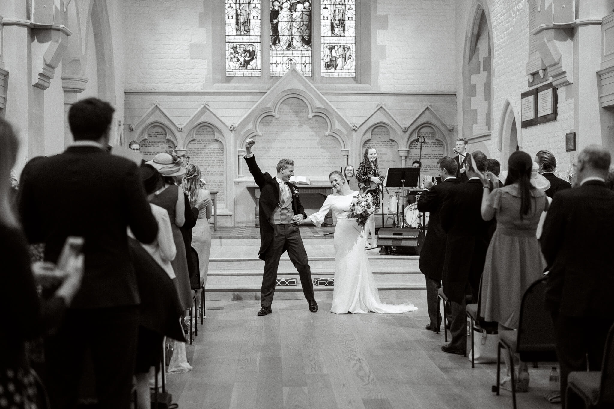 St Ebbs Church wedding ceremony in Oxford city