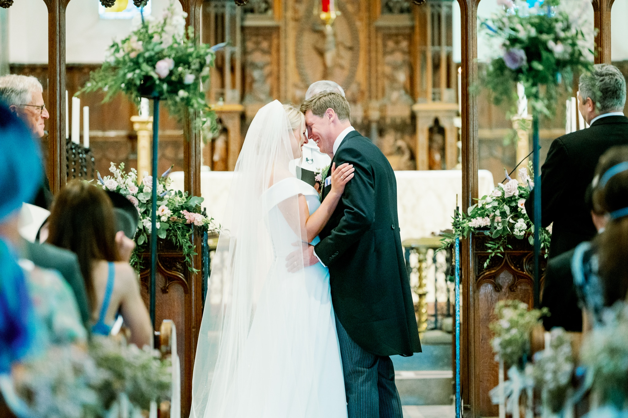 St Peters Church in Bexhill-on-sea with Hastings wedding photographer