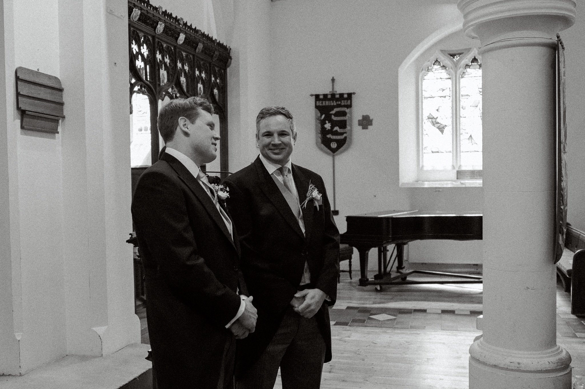 St Peters Church with Hastings Wedding Photographer