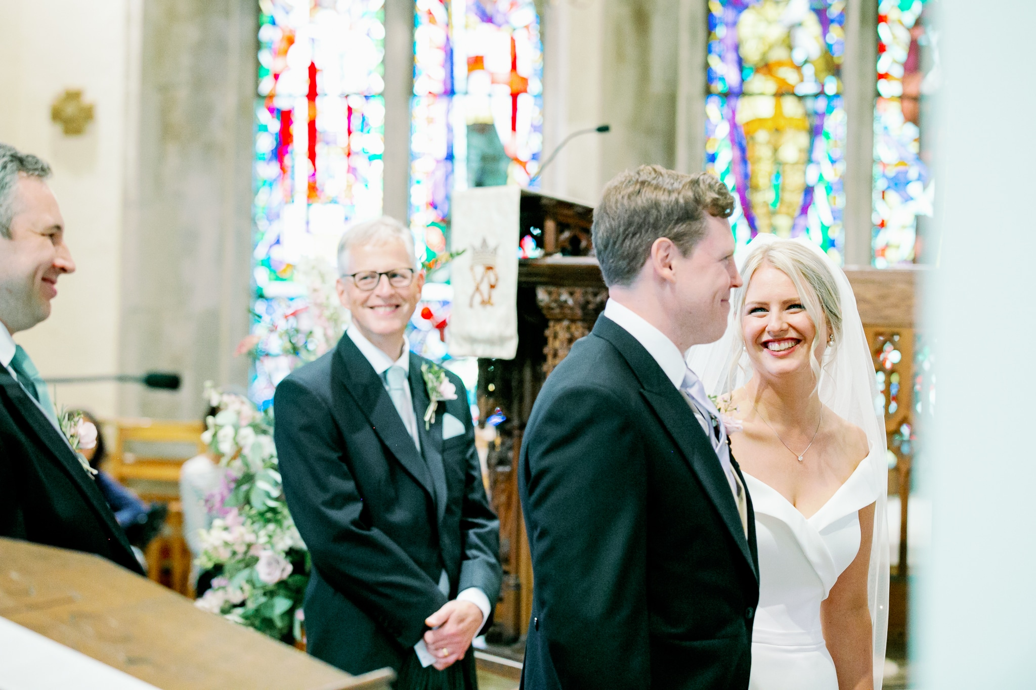 St. Peters Church in Bexhill with East Sussex wedding photographer