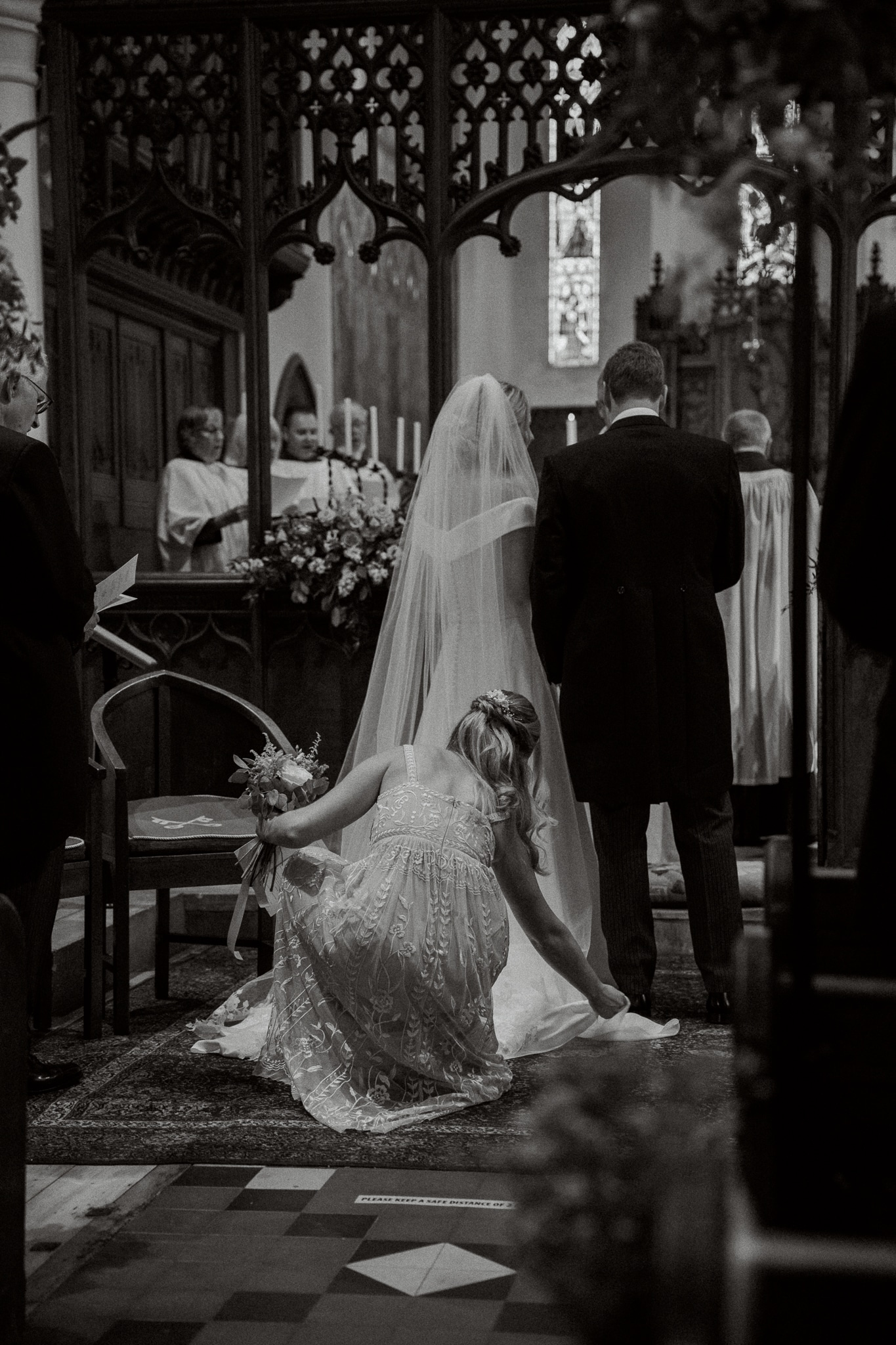 St. Peters Church near Hastings with East Sussex wedding photographer