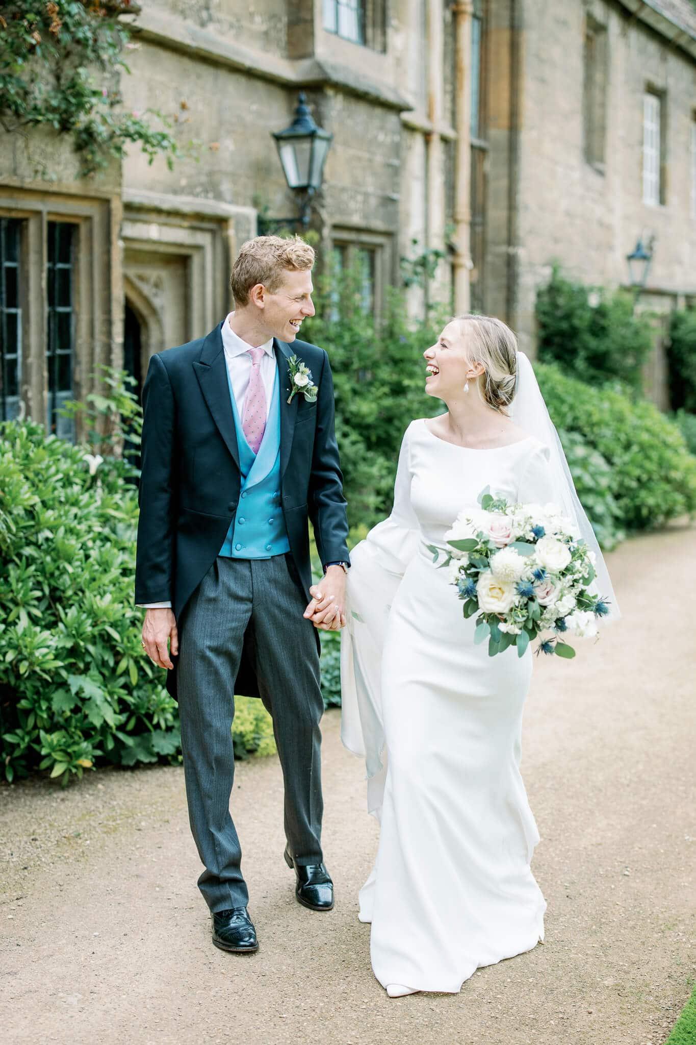 wedding at worcester college school in Oxford