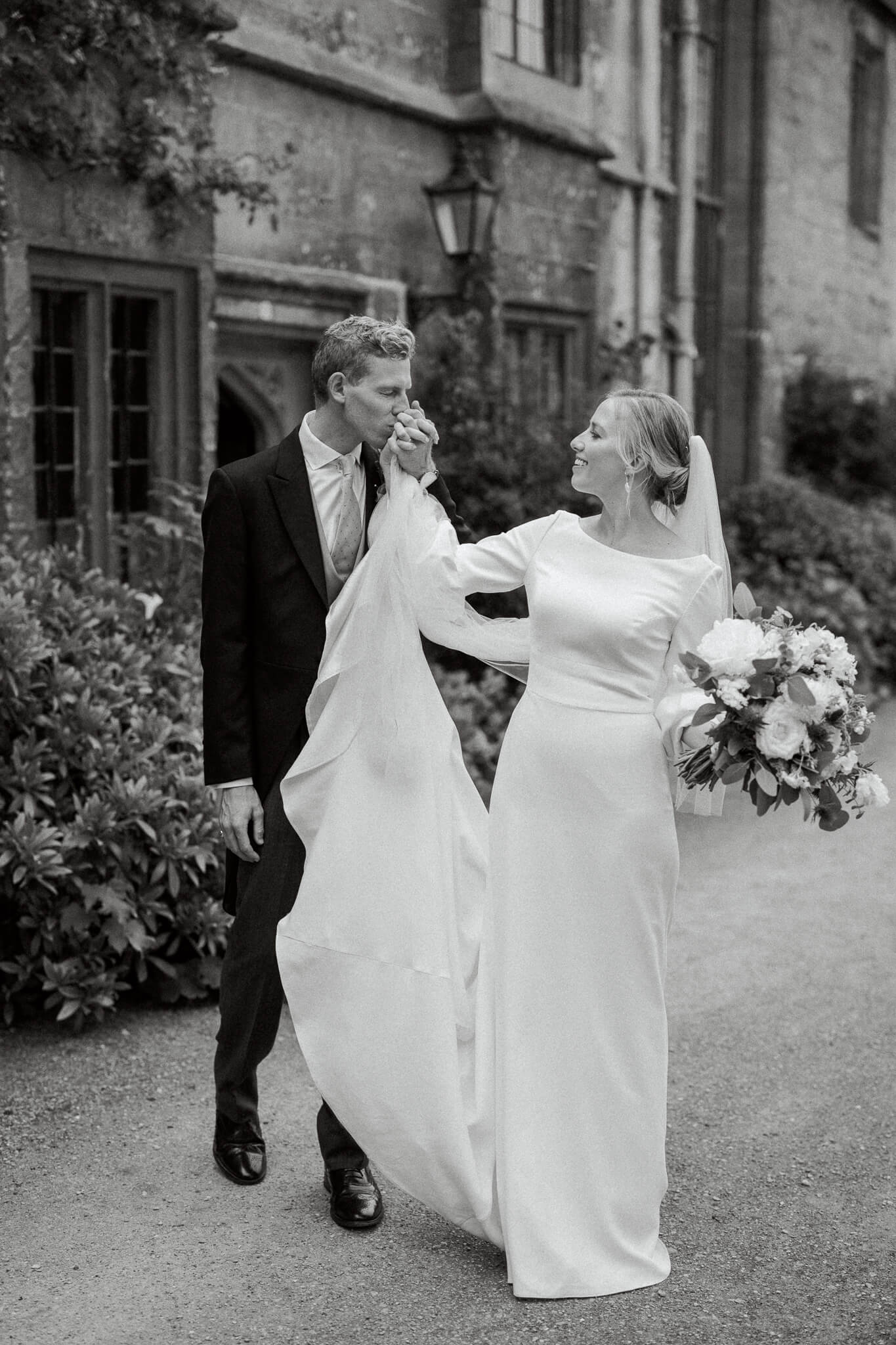wedding at worcester college in Oxford