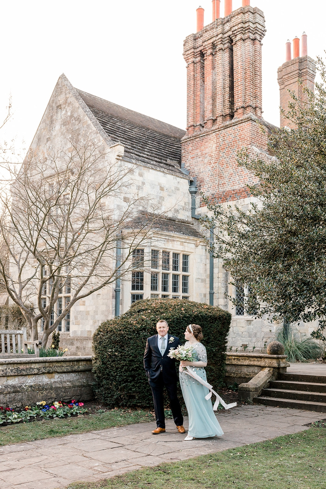 Lewes Registry Office wedding photos at Southover Grange