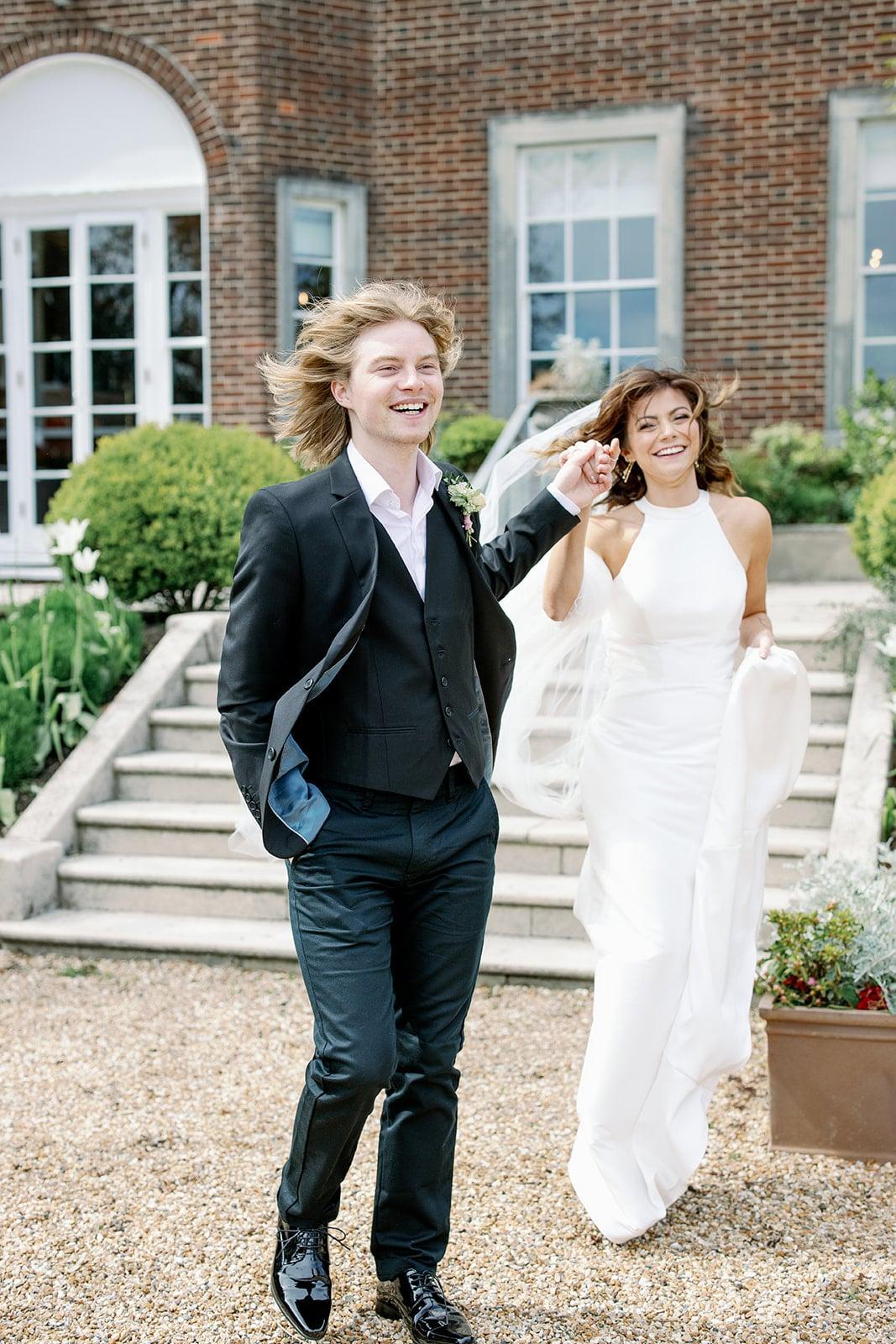 Lewes wedding photographer at Pelham House