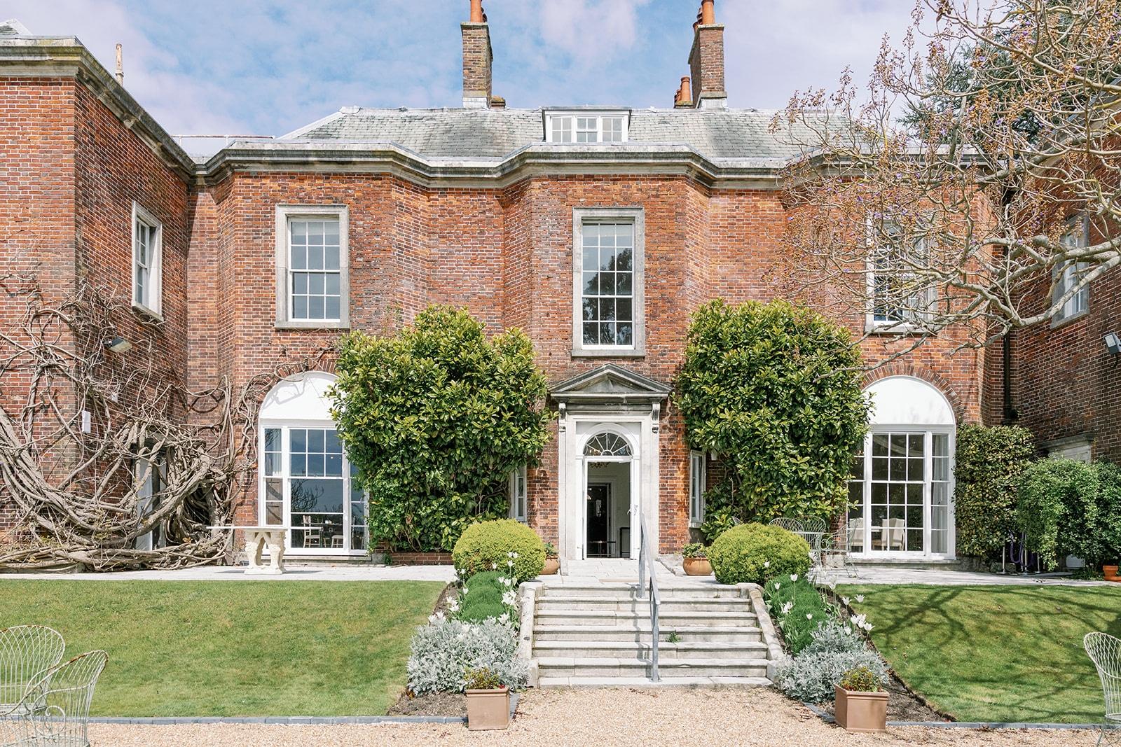 Pelham House wedding venue in Lewes